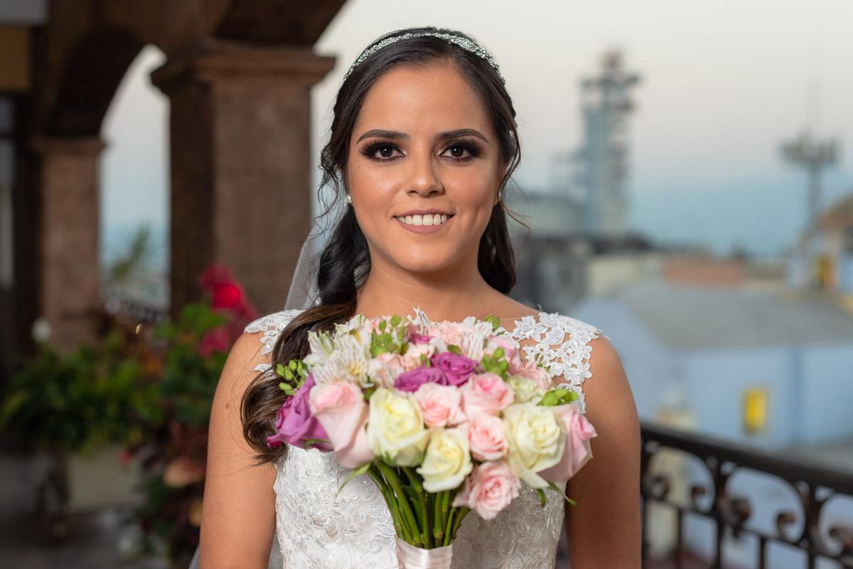 Bodas Córdoba Veracruz novia con ramo