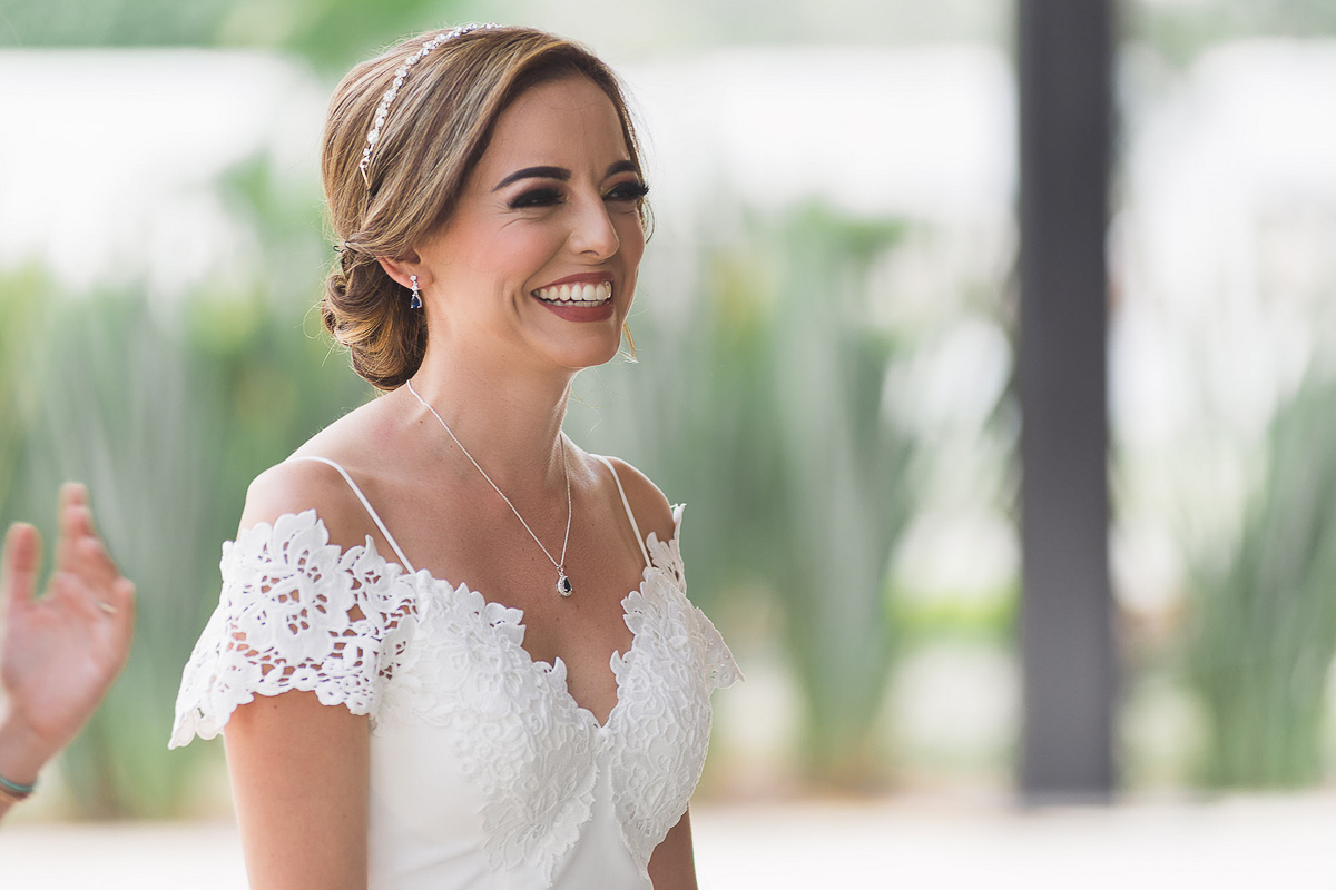 Bodas Córdoba Veracruz novia sonriendo