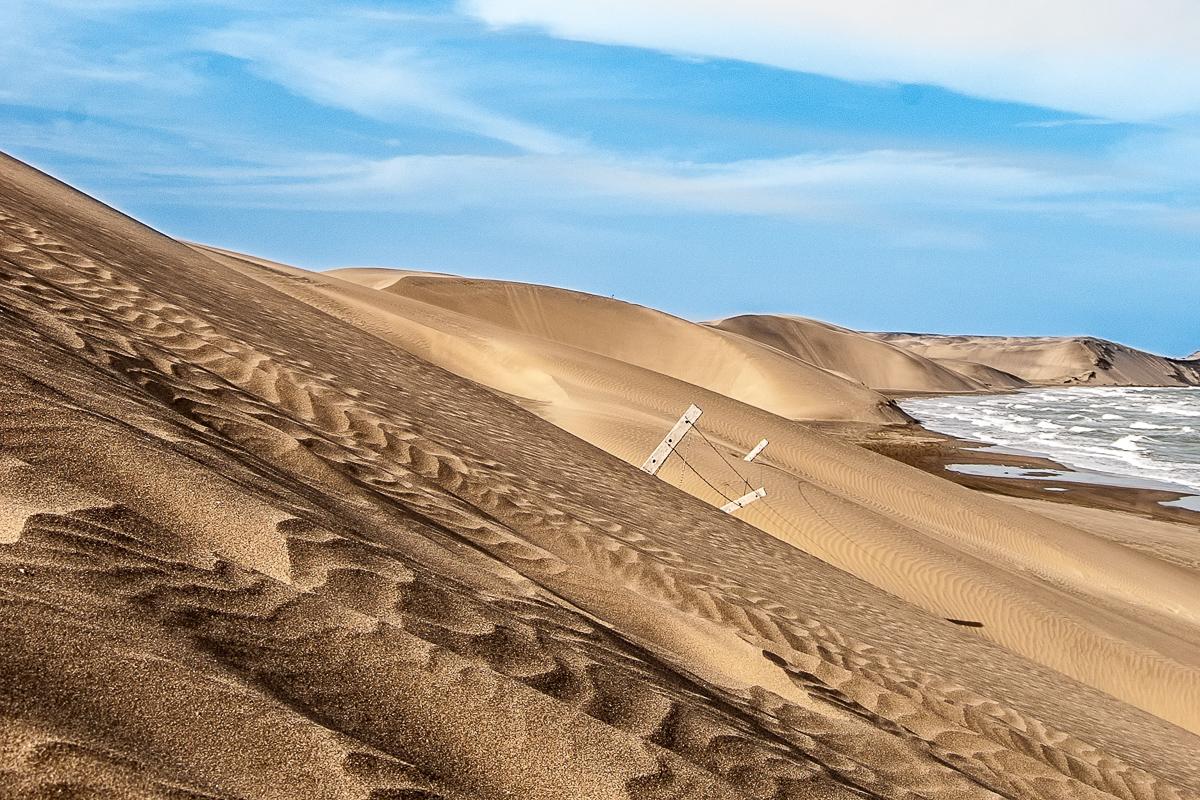 Playa Chachalacas Veracruz dunas olas