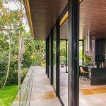 Balcón y jardin arquitectura cocina ventanales